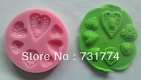 Free shipping 1Pcs lovely shaped Chocolate Candy Jello 3D silicone cake Mold soap Mould Cartoon Figre/cake tools  C001