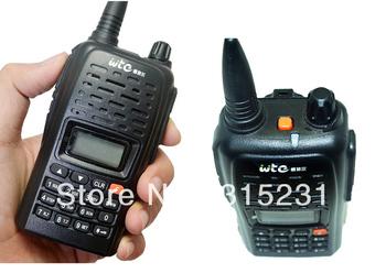 WTE-D3 UHF Handheld Transceiver CTCSS DCS Walkie-Talkie Radio 199 Channel Antenna