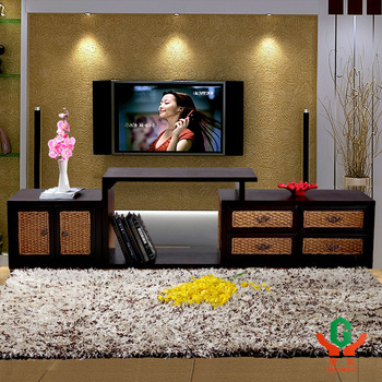 manmade solid wood We pool our ideas rattan furniture tv cabinet combination audio cabinet sofa cabinet  customize
