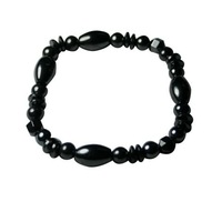 Fashion Hematite Rice Beaded Bracelets