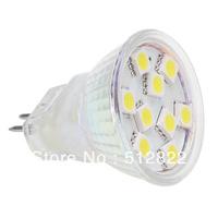 Free Shipment !!! Dimmable 9LED MR11 SMD 5050 Spot Light 12VDC White Warm White 2pcs/lot