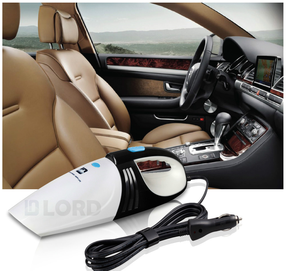 Auto High Power Cyclone Vacuum Cleaner apply to all cars Black and white(China (Mainland))