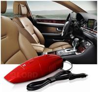 Handheld Powerful Dry Vacuum Cleaner 12v 75w Red