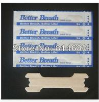 Free shipping Drug free Snoring relief Nasal strips 1000PCS breath right nasal strip anti snoring nose strips