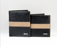 hot selling Genuine Leather wallet short wallet 2pcs/lot wholesale free shipping