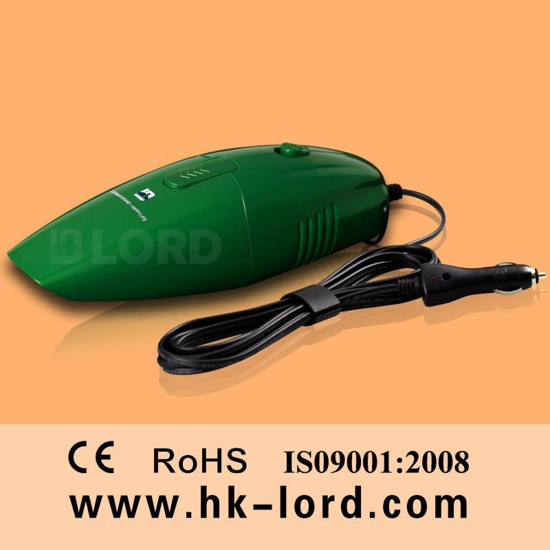 Handheld Powerful Car Vac Cleaner 12v 75w Green(China (Mainland))