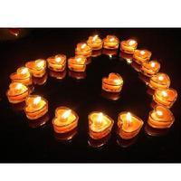 Free shipping,10pcs/lot,glass candle smokeless candles