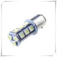 free shipping 2pcs 1157 BAY15D 18 SMD 5050 Pure White Tail Turn Signal 18 LED Car Light Bulb Lamp 12V