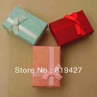 Wholesale 40pcs/Lot Multi 6*4cm Jewelry Set Box Necklace/Earrings/Ring gift Box Jewelry Packaging gift Box Free Shipping
