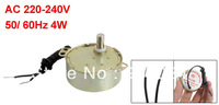 Microwave Oven Synchronous Motor 5/6RPM AC 220-240V 50/60Hz CW/CCW w Black Cable