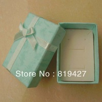 Wholesale 20pcs/Lot Blue 6*4cm Jewelry Set Box Necklace/Earrings/Ring gift Box Jewelry Packaging gift Box Free Shipping