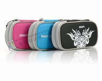 Free shipping Shockproof sponge cloth High Quality for psp1000/2000/3000 bag(blakc,ice blue,pink)