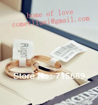 новейшие italina rigant 18k роуз позолоченные любовник кольцо прелести истинной любви дамы оптовая много