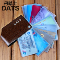 Brand New Designer 100% Genuine Leather Card Case Cowhide Leather Business Card Wallets High Quality Gift Card Holders
