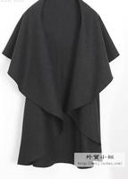 Cape cloak outerwear sweater cardigan woolen cloak overcoat outerwear 2013
