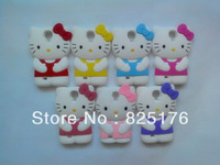Cute 3D Hello Kitty Shape Soft Silicone Case for Samsung Galaxy S4 i9500 Promotion !