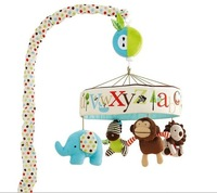 ZOO letters Preschool children's bed bell baby toys baby toys plush toy, cute animal shapes Series retaail