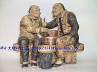 Ceramic crafts figurines