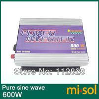12V/230V/50Hz, 600W Inverter, PURE SINE WAVE, for photovoltaic, for solar system,