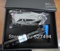 5000mw 5w 405nm purple-blue violet laser pointer focusable burn black match/cigarettes,free shipping