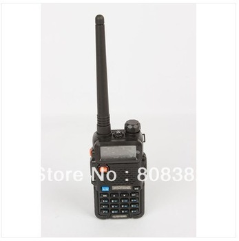 BAOFENG UV-5R 5Watts two way radio walkie talkie Dual band dual display 136-174MHZ & 400-520MHZ Free earpiece and long antenna