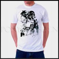 DIY Style DARTH VADER STAR WARS men's short sleeve ruins T-shirt high quality Fashion Brand t shirt new