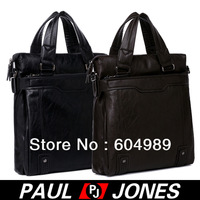 Free Shipping PJ Men's Hot Fashion Business Polyurethane Shoulder Bag Messenger Tote Briefcase GZ309