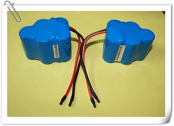 Customize sweeper vacuum cleaner intelligent robot nimh sc battery pack 6V3300mAH