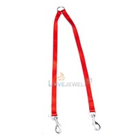 LY4# WALK 2 Two DOGS Leash COUPLER Double Twin Lead New