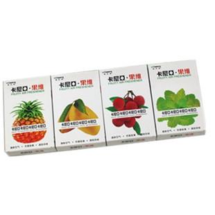 Free shipping, Car car perfume solid perfume car perfume smell fruit fragrance