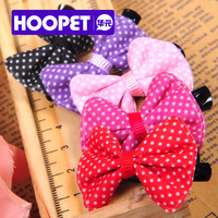 Free Shipping pet supplies hair accessory yorkshire 4 pieces/lot Pet bow hairpin Dog Hair Decoration12Y0026GX0000