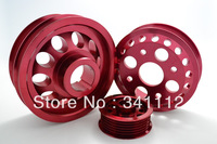 LIGHT-WEIGHT CRANK PULLEY For 02-06 Infiniti G35 FX35 Nissan 350Z Z33