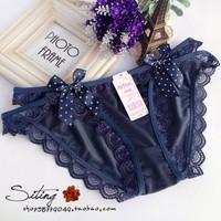 3 ps Sexy Ladies Langeri Underwear-Ice silk lace butterfly