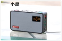 Free shipping high quality  tecsun ICR-100 new product FM radio TF SD card speaker