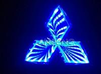 New Mitsubishi Motors Automotive Laser / reflective 3D Luminous Signs (red / blue / white selection)