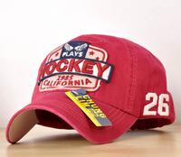 2 100% cotton baseball cap casual hat hockey edging fashion cap multicolor