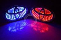 Car LASER/REFLECTIVE 3D TOYOTA BRAND Badge light LED auto logo Personality Light