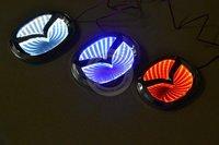 3D MAZDA Car Badge Light  (red / blue / white color optional)