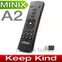 MINIX NEO A2 2.4GHz wireless Air mouse Keyboard Gyroscope Gaming Mini Fly Air Mouse with Speaker Microphone for android tv box
