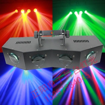 Colored led scanning light voice-activated light beam ktv laser light
