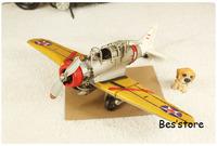 Free shipping Metal DIY MINI retro nostalgia Iron American fighter crafts ornaments