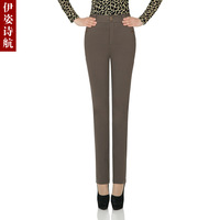 Clothing 2013 spring high elastic waist pants casual pants pencil pants