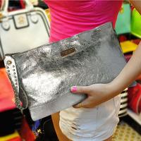 2013 clutch women's handbag genuine leather large capacity fashion women's fashion messenger bag