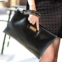 clutch women's handbag genuine leather large capacity fashion women's fashion messenger bag