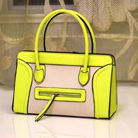 Fashion female smiley bag neon ice cream shoulder bag handbag messenger bag fashion handbag women's