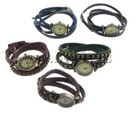 Free shipping!!!Fashion Watch Bracelet,Men Jewelry, Zinc Alloy, with Leather, nickel, lead & cadmium free