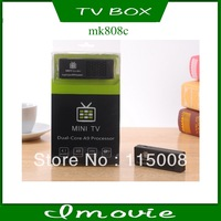 hipping- MK808C Dual Core Android TV Box 1GB DDR3+8GB ROM WiFi/DLNA/Airplay/OTG/AV Output/Bluetooth