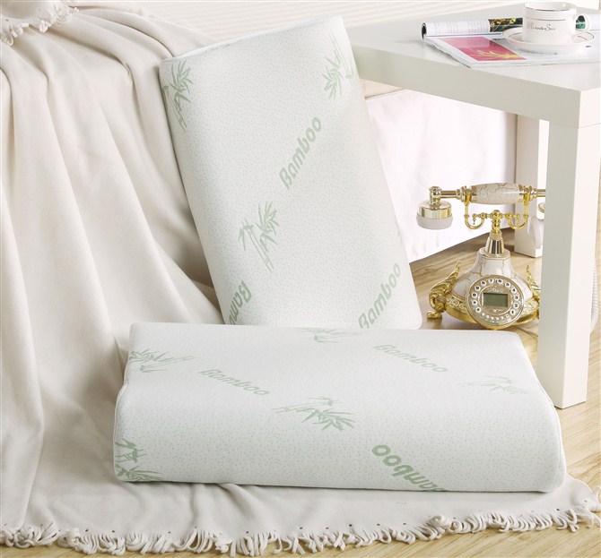 Bamboo Fibre Space Memory Pillow Memory Foam Neck Pillow