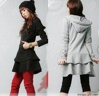 2013 big size clothing  spring women's one-piece dress fashion cardigan outerwear xxxxl xxxxxl xxxxxxl