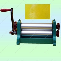 Manual beeswax flat sheet machine 75*310mm